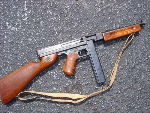 Auto Ordnance M1 Thompson in 45 acp